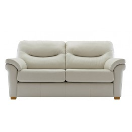 G Plan Washington Leather - 3 Seater Sofa