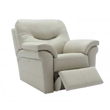 G Plan Washington Leather - Powered Recliner