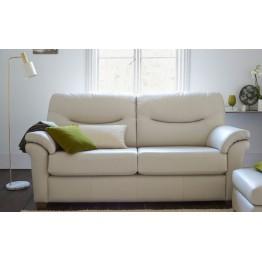 G Plan Washington Leather - 3 Seater Sofa