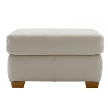 G Plan Washington Leather - Storage Footstool