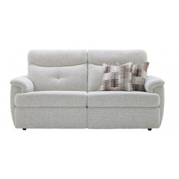 G Plan Atlanta Fabric - 3 Seater Powered Recliner Sofa Double