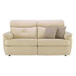 G Plan Atlanta Leather - 3 Seater Powered Recliner Sofa Double