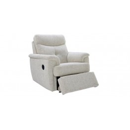 G Plan Atlanta Fabric - Powered Recliner