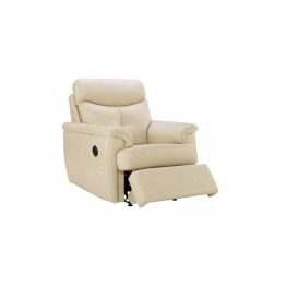G Plan Atlanta Leather - Powered Recliner