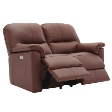 G Plan Chadwick 2 Seater Power Recliner Sofa - Double Sided