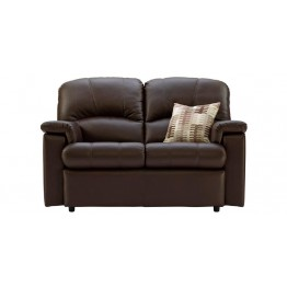 G Plan Chloe Leather - 2 Seater Sofa Small