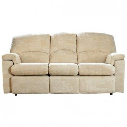 G Plan Chloe Fabric - 3 Seater Powered Recliner Sofa Double