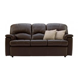 G Plan Chloe Leather - 3 Seater Sofa Small