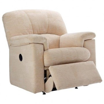 G Plan Chloe Fabric - Manual Recliner Small