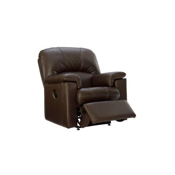 G Plan Chloe Leather - Manual Recliner Small