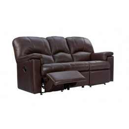 G Plan Chloe Leather - 3 Seater Manual Recliner Sofa LHF Or RHF