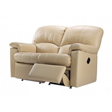 G Plan Chloe Leather - 2 Seater Manual Recliner Sofa LHF Or RHF