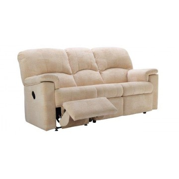 G Plan Chloe Fabric - 3 Seater Manual Recliner Sofa LHF Or RHF