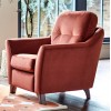 G Plan Flint Chair Leather