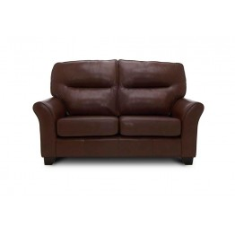 G Plan Gemma Leather - 2 Seater Sofa