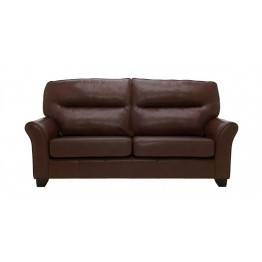 G Plan Gemma Leather - 3 Seater Sofa