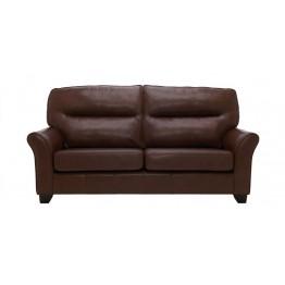 G Plan Gemma Leather - 3 Seater Sofa