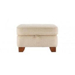 G Plan Gemma Fabric - Storage Footstool