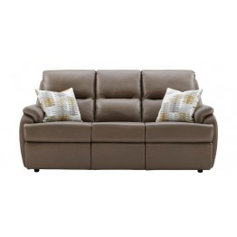G Plan Hartford Leather - 3 Seater Sofa