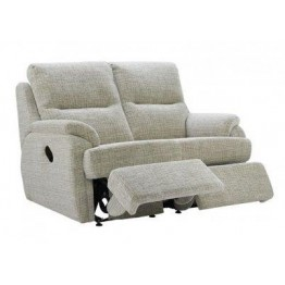G Plan Hartford Fabric - 2 Seater Manual Recliner Sofa Double