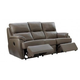 G Plan Hartford Leather - 3 Seater Manual Recliner Sofa Double