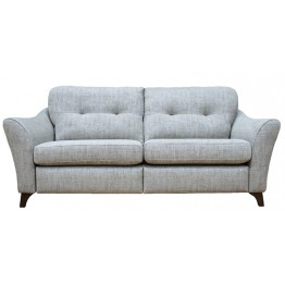 G Plan Hatton 3 Seater Sofa in Fabric (formal or pillow back)