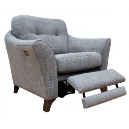 G Plan Hatton Chair with Power Footrest in Fabric