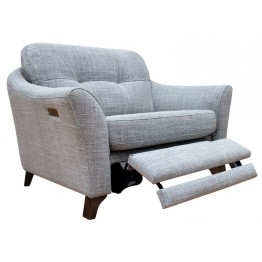 G Plan Hatton Snuggler with Power Footrest in Fabric