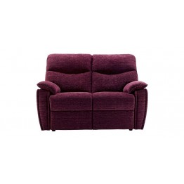 G Plan Henley Fabric - 2 Seater Manual Recliner Sofa LHF Or RHF