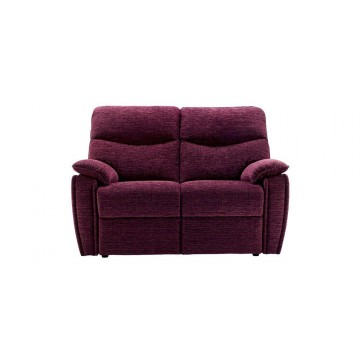 G Plan Henley Fabric - 2 Seater Powered Recliner Sofa Double