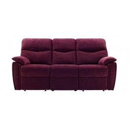 G Plan Henley Fabric - 3 Seater Powered Recliner Sofa LHF or RHF