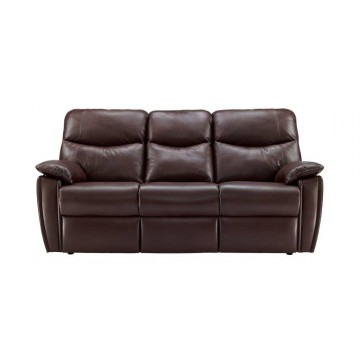 G Plan Henley Leather - 3 Seater Sofa