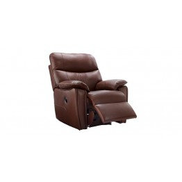 G Plan Henley Leather - Manual Recliner