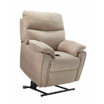 G Plan Henley Fabric - Elevate Small Chair With Dual Motor