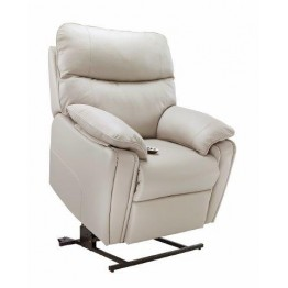 G Plan Henley Leather - Elevate Small Chair With Dual Motor