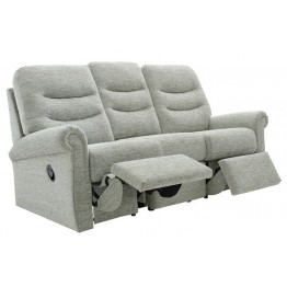G Plan Holmes 3 Seater Manual Double Recliner Sofa