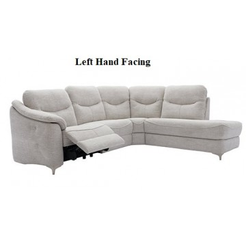 G Plan Jackson Corner Chaise Sofa with 1 Power Recliner Seat - Left Hand Facing or Right Hand Facing