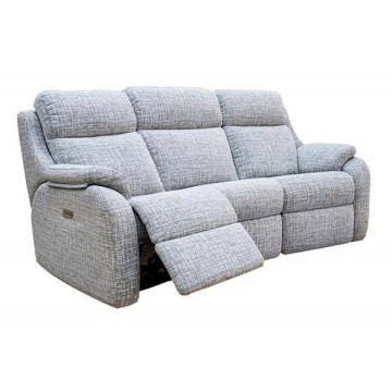 G Plan Kingsbury 3 Seater Power Recliner Curved Sofa - (Call us on 01283 740004 about having this power recliner but priced as a manual version - Offer ends 4th Nov 2020)