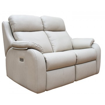 G Plan Kingsbury 2 Seater Manual Recliner Sofa - (Call us on 01283 740004 about having this upgraded to a Powered Recliner action for free - Ends 4th Nov 2020)