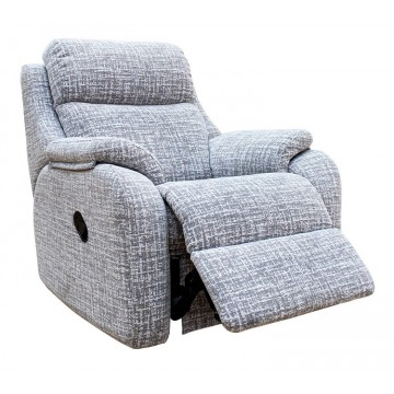 G Plan Kingsbury Manual Recliner - SPECIAL OFFER - UPGRADE FOR FREE TO A POWER VERSION - CALL US FOR INFO