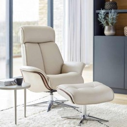 G Plan Lund Manual Chair & Footstool