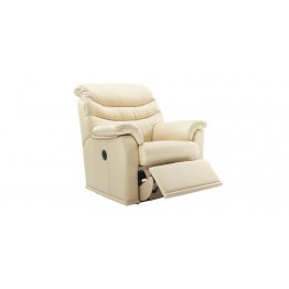 G Plan Malvern Leather - Manual Recliner
