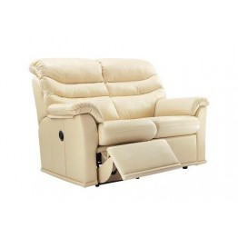 G Plan Malvern Leather - 2 Seater Manual Recliner Sofa Double - CALL TO ASK US ABOUT THE POWER UPGRADE OFFER - ENDS 30th JANUARY 2019.