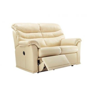 G Plan Malvern Leather - 2 Seater Powered Recliner Sofa Double