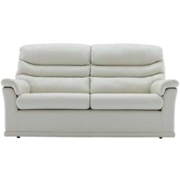 G Plan Malvern Leather - 3 Seater Sofa (2 cushion version)