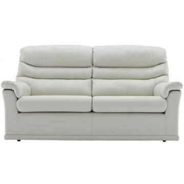 G Plan Malvern Leather - 3 Seater Sofa (2 cushion version)