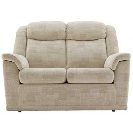 G Plan Milton Fabric  - 2 Seater Power Recliner Sofa Double