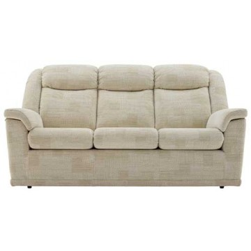 G Plan Milton Fabric  - 3 Seater Manual Recliner Sofa Double