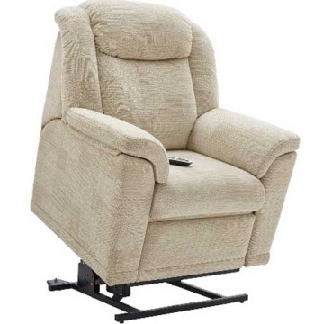 G Plan Milton Fabric  - Elevate Powered Recliner Chair