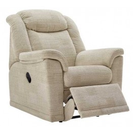 G Plan Milton Fabric  - Powered Recliner Chair